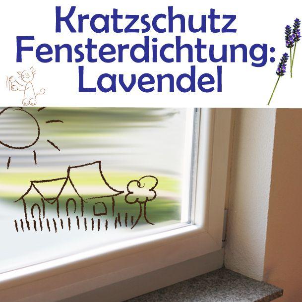 Kratzschutz Fensterdichtung Lavendel - AntiKratzmax. Schutz von Fensterdichtungen.