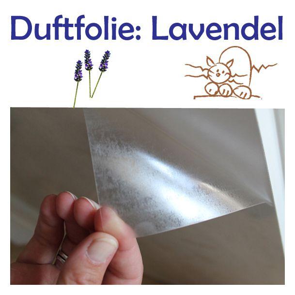 Duftfolie Verduftikuss Lavendel: mit dem Lass-das-Kratzen Effekt