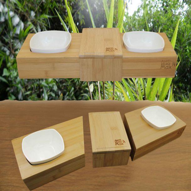 Futternapf aus Bambus - von AntiKratzMax, Gesund und nachhaltig leben
