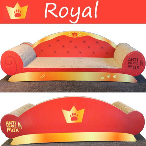Katzen Kratz Couch:         Royal (rot)